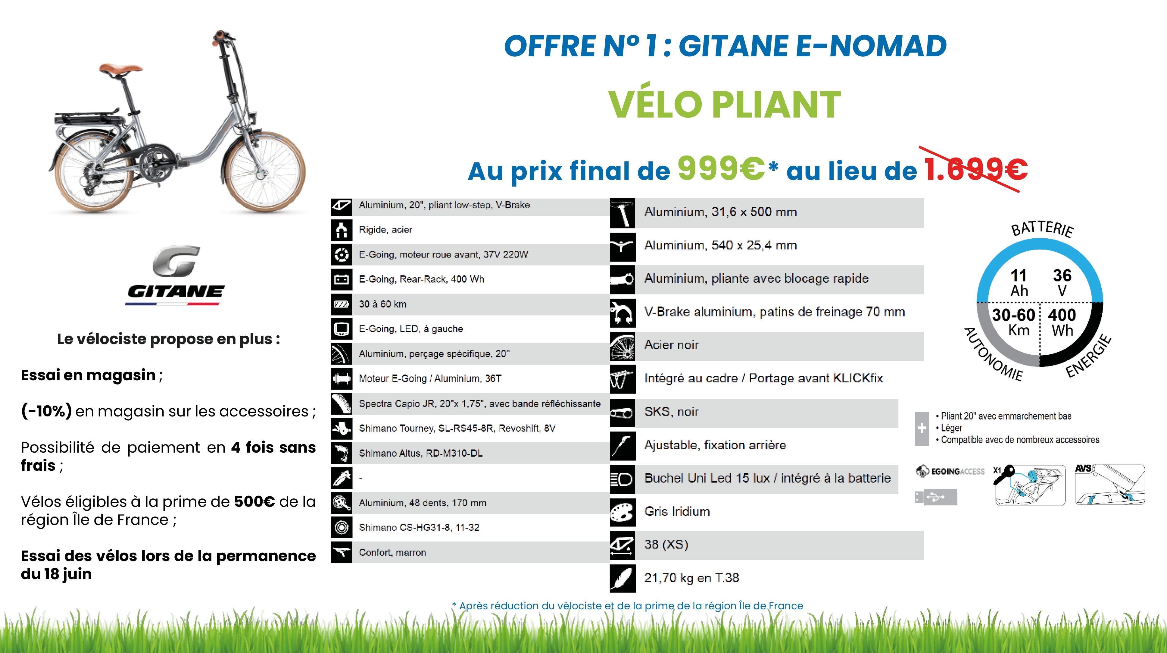 vélo nomad page